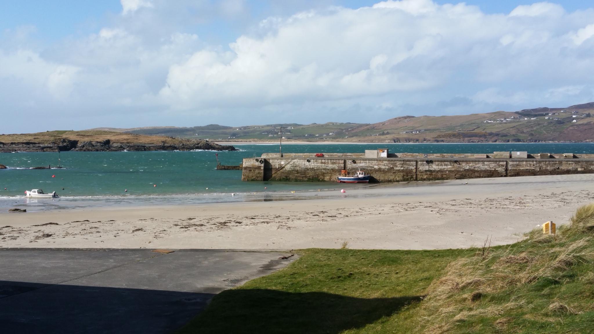 Portnablagh pier