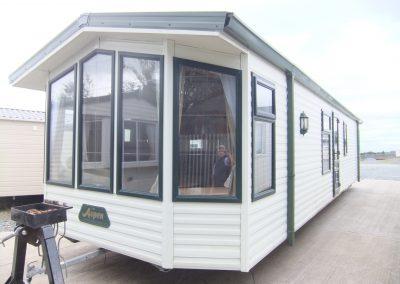 2007 Willerby Aspen 37×12 2 Bed Full Winter Spec